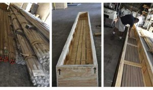 Crating, packing, shipping services